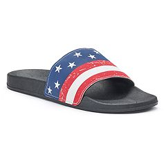 Men's Flag Slides