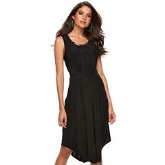 Women's Jennifer Lopez Embellished Fit & Flare Dress