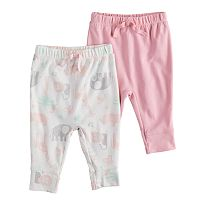 Baby Girl Jumping Beans® 2-pk. Jogger Pants