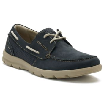 Clarks Jarwin Edge Navy Men's Boat Shoes