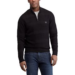 Big & Tall Chaps Regular-Fit Quarter-Zip Pullover