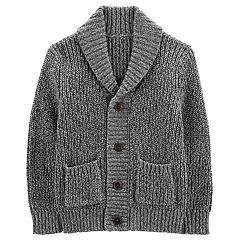 Toddler Boy OshKosh B'gosh® Shawl Collar Button Down Cardigan Sweater