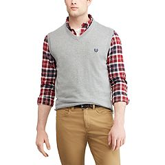Big & Tall Chaps Regular-Fit V-Neck Sweater Vest