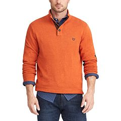 Big & Tall Chaps Regular-Fit Mockneck Pullover Sweater