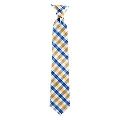 Boys 4-20 Chaps Baldwin Check Clip-On Tie
