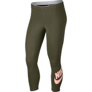 Women's Nike Sportswear Midrise Capri Leggings
