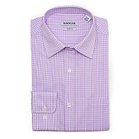 Men's Haggar Motion Ease Collar Slim-Fit Stretch Dress Shirt