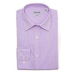 Men's Haggar Motion Ease Collar Slim-Fit Stretch Dress Shirt