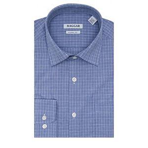 Men's Haggar Premium Comfort Classic-Fit Stretch Dress Shirt