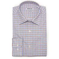Men's Haggar Motion Ease Collar Regular-Fit Stretch Dress Shirt