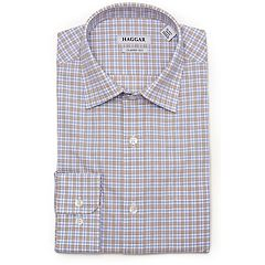 Men's Haggar Premium Comfort Regular-Fit Stretch Dress Shirt