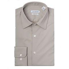 Men's J.M. Haggar Premium Performance Regular-Fit Stretch Dress Shirt