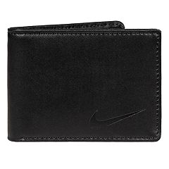 Men's Nike RFID-Blocking Leather Bifold Wallet