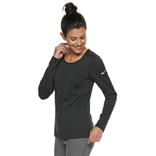6aa7affa Women's Nike Pro Warm Training Base-Layer Long-Sleeve Top