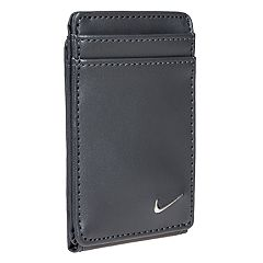 Men's Nike RFID-Blocking Magnetic Leather Front-Pocket Wallet