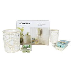 SONOMA Goods for Life™ Vanilla, Bamboo & Seaside Breeze Wax Melt & Warmer 20-piece Set