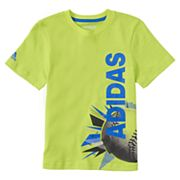 Boys 4-7x adidas Baseball Collage Wrap Graphic Tee