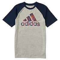 Boys 4-7x adidas Raglan Logo Graphic Tee