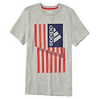 Boys 4-7x adidas Patriotic American Flag Graphic Tee
