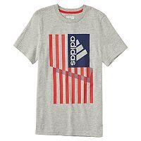 Boys 4-7x adidas Patriotic American Flag Graphic Tee
