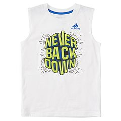 Boys 4-7x adidas 'Never Back Down' Muscle Tee