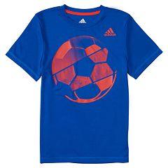 Boys 4-7x adidas Hacked Sport Ball Graphic Tee