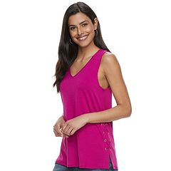 Women's Apt. 9® Lace-Up Tank