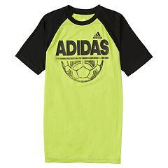 Boys 4-7x adidas Half Time Sporty Raglan Tee