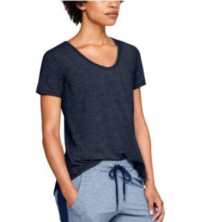 Women's Under Armour Athlete Recovery Sleepwear Short Sleeve Pajama Tee