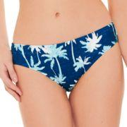 Juniors' Hot Water Shirred Hipster Bikini Bottoms