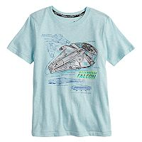 Boys 4-7x Star Wars a Collection for Kohl's Millennium Falcon Snow Nep Graphic Tee