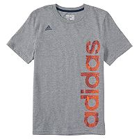 Boys 4-7x adidas Vertical Logo Graphic Tee