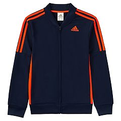 Boys 4-7x adidas Linear Navy Track Jacket