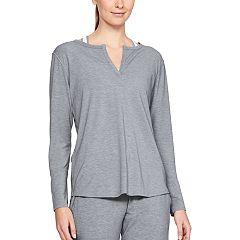 Women's Under Armour Athlete Recovery Sleepwear Long Sleeve Pajama Tee