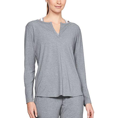 2ba69e0c62 Women's Under Armour Athlete Recovery Sleepwear Long Sleeve Pajama Tee