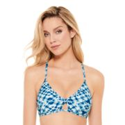Juniors' Hot Water X-Back Bikini Top
