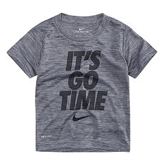 Toddler Boy Nike 'It's Go Time' Dri-FIT Tee