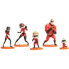 Disney / Pixar The Incredibles 2  5-Figure Set