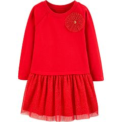 Toddler Girl Carter's Bow Tutu Dress