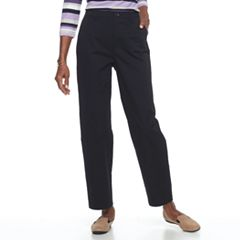 Women's Croft & Barrow® Relaxed Twill Pants