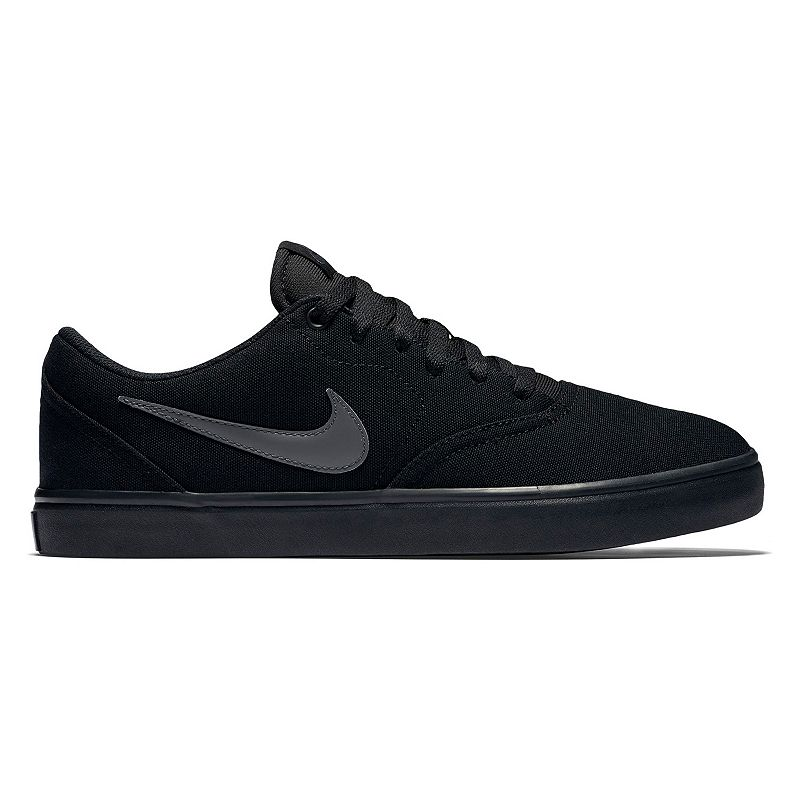 the best attitude d2018 822a7 ... Solar Canvas (Black Anthracite) UPC 884500497610 product image for Nike  SB Check Solarsoft Men s Skate Shoes, Size  7.5 ...
