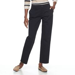 Women's Croft & Barrow® Effortless Stretch Relaxed Pants