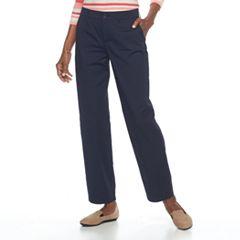 Women's Croft & Barrow® Effortless Stretch Relaxed Pants