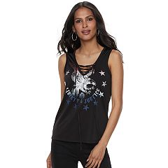 Women's Rock & Republic® 'Liberty & Justice' Graphic Tank