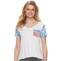 ff534cb2 Womens Rock & Republic Regular T-Shirts Tops, Clothing | Kohl's