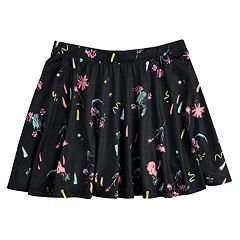 Girls 7-16 SO® Printed Skater Skirt