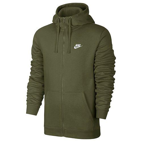 57c38b78a5 Big & Tall Nike Club Full-Zip Fleece Hoodie
