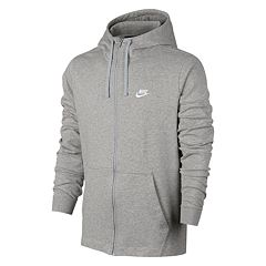 Mens Grey Nike Hoodies & Sweatshirts Tops & Tees Tops