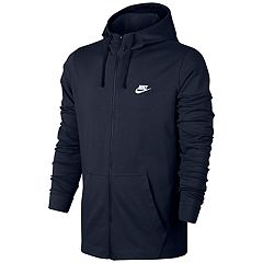 Big & Tall Nike Full-Zip Jersey Hoodie