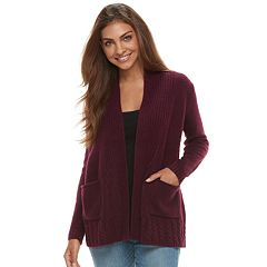 Petite SONOMA Goods for Life™ Supersoft Airy Shawl Collar Cardigan
